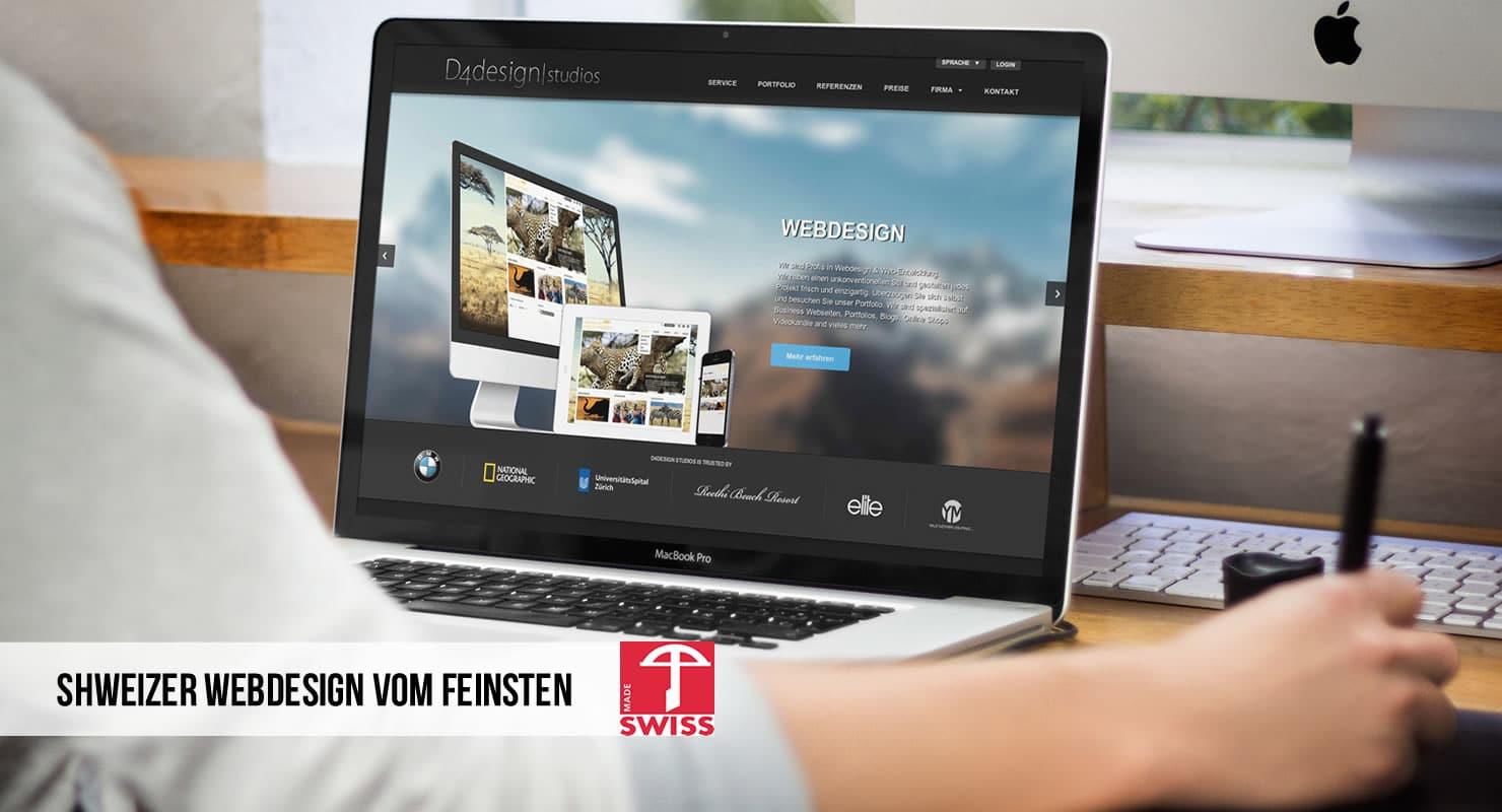 Schweizer Webdesign vom Feinsten!